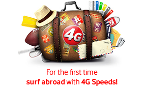 Experience Mobile Internet with 4G speeds in Italy, Spain, Portugal and Romania