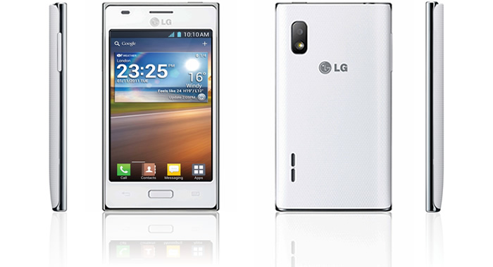 Lg Optimus photos L5 white    The 10 best smartphones in the world for less than 200 euros