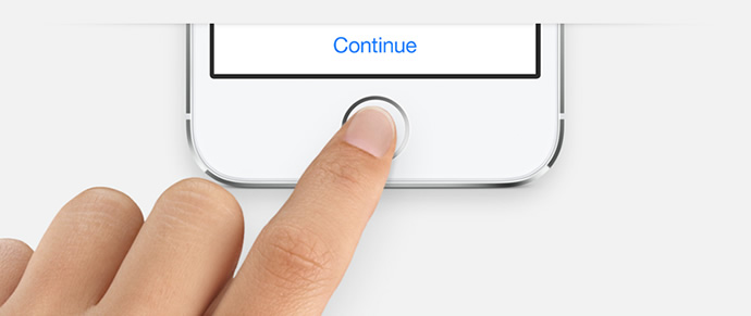 TouchID iPhone 5s