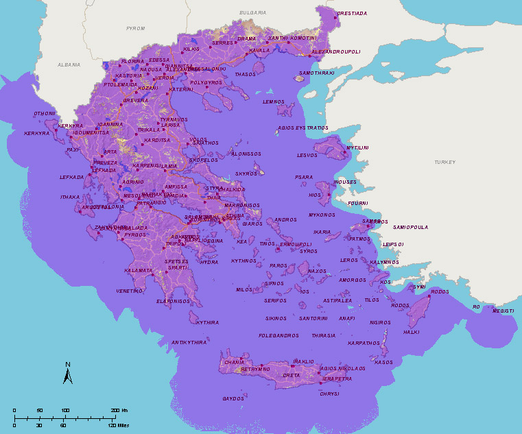 coverage map voice data 4g back greece greece